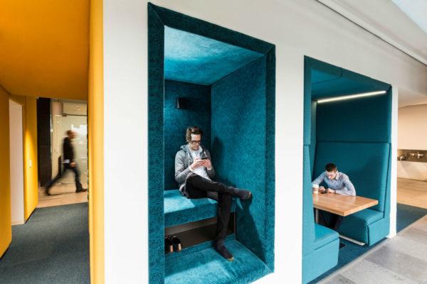 互联网总部简约风格办公室设计:美国微软83号楼