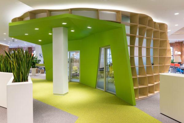 现代风格总部办公室设计:俄罗斯Yandex HQ二期