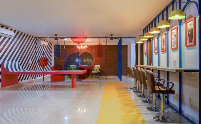 印度时尚男性杂志公司办公室设计分享