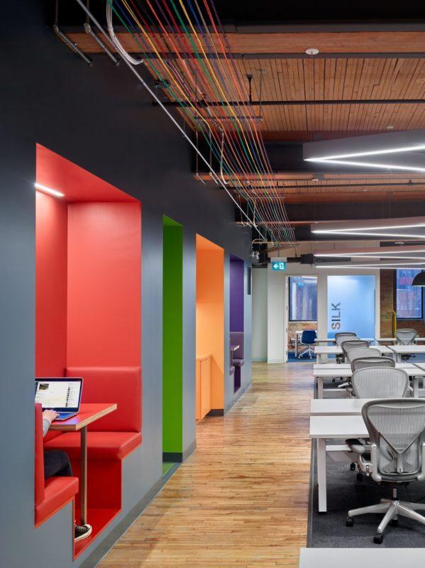 加拿大多伦多科技公司办公室设计分享
