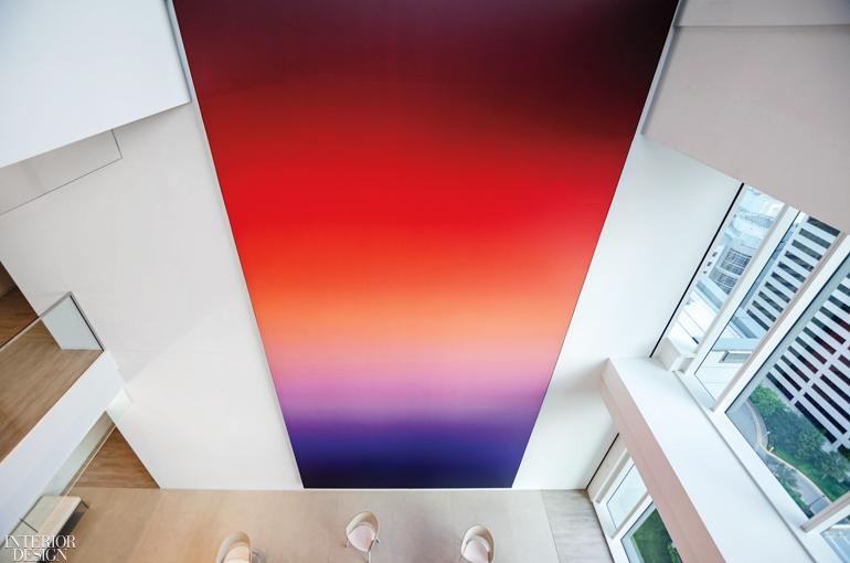 媒体公司总部办公室设计:大型艺术品具有变革力量