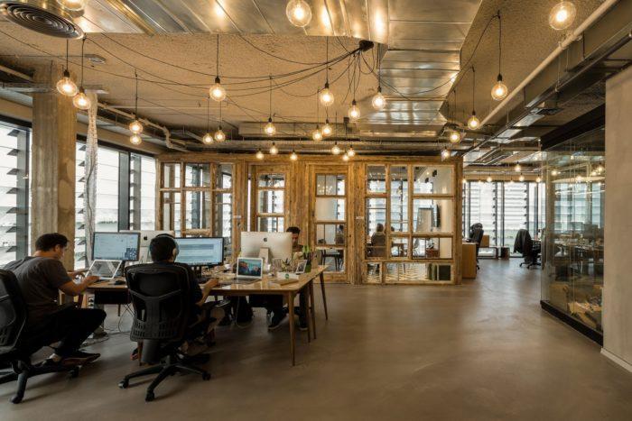 以色列建筑师事务所办公室设计案例
