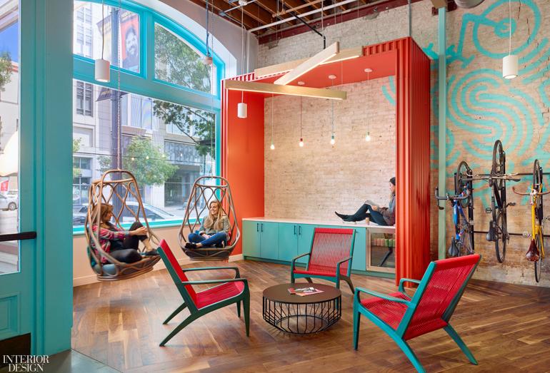 热带度假风办公室设计:德克萨斯电子商务公司