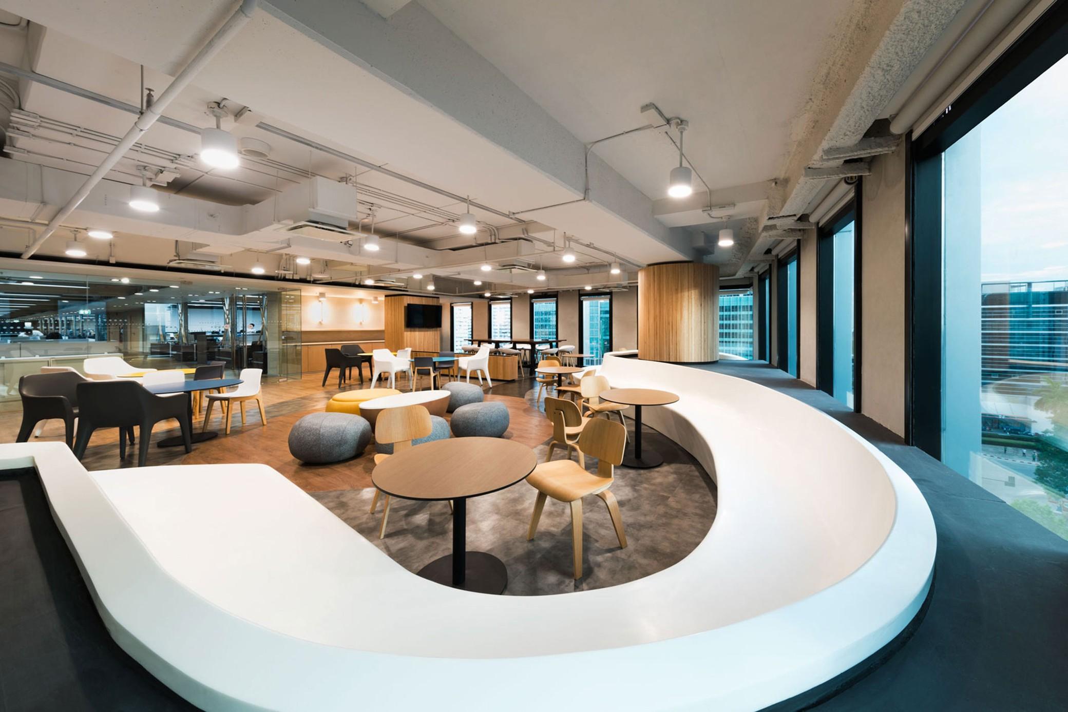 KASIKORN商业技术金融集团大楼办公设计案例