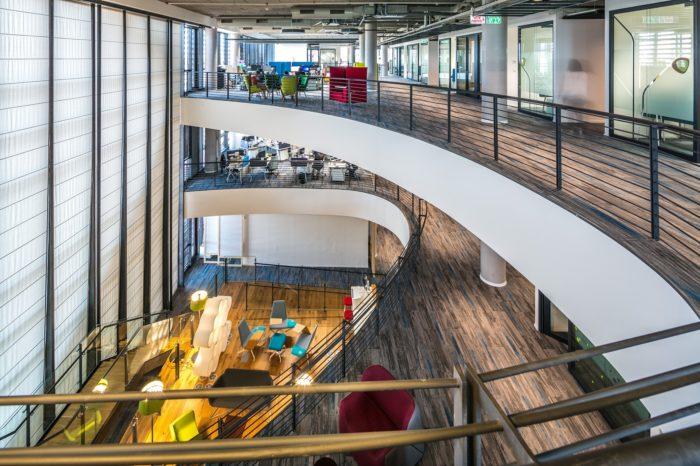 以色列思爱普软件公司总部办公室设计案例