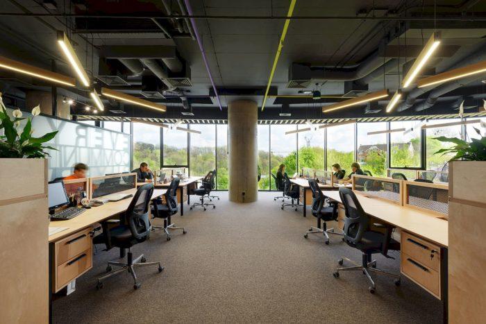 乌克兰上市公司OLX办公室室内设计分享