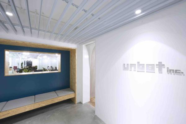 互联网公司办公室设计:上海信息技术Unbot inc