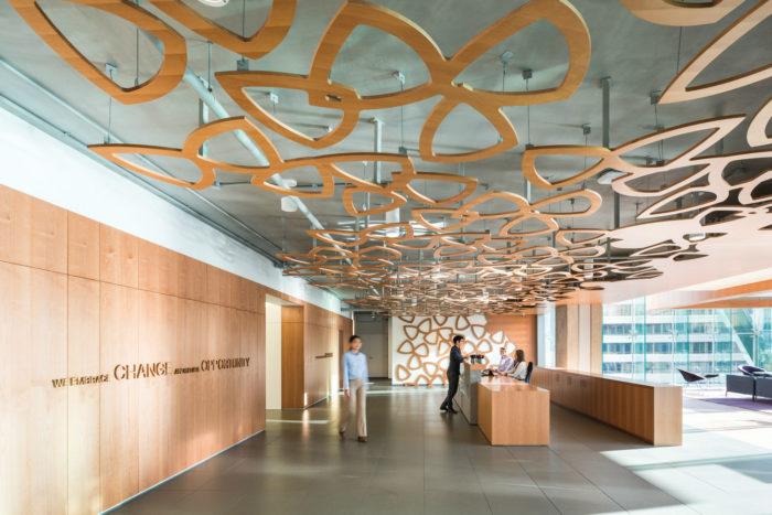 加拿大温哥华电信公司TELUS总部办公室设计案例分享