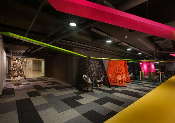 现代简约风格互联网总部办公室设计:土耳其Markafoni.com