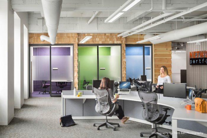 美国亨斯迈建筑集团办公室设计项目分享