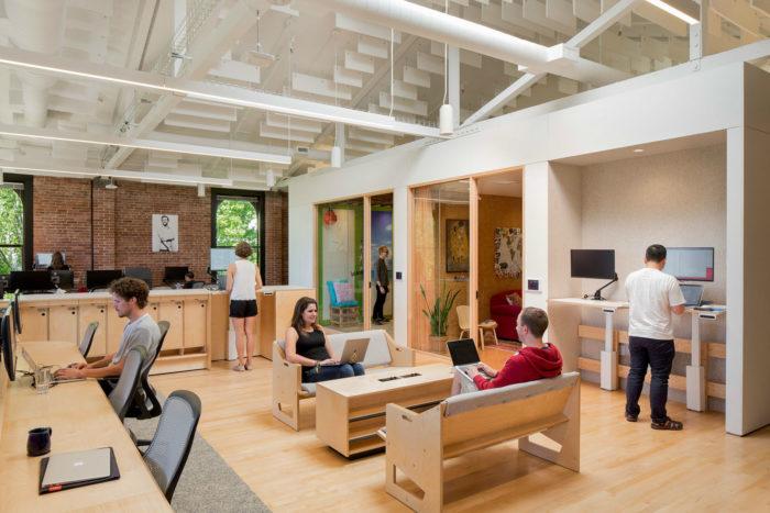 互联网公司办公室设计:美国Airbnb CX中心二期