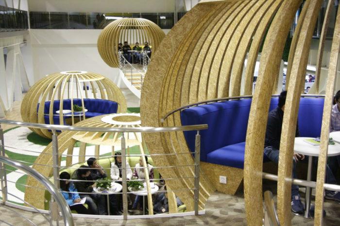 互联网公司总部办公室设计:北京奇虎360科技有限公司