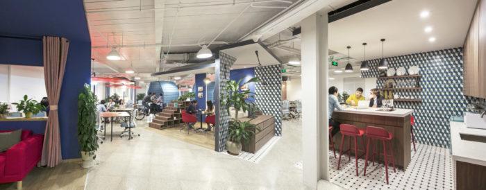 北京互联网公司总部办公室设计案例