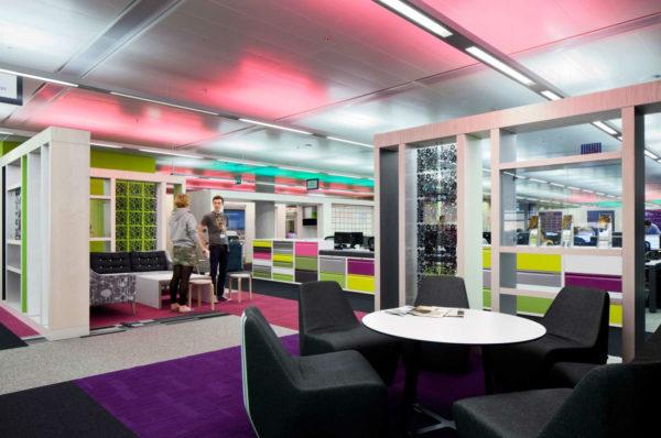 文化媒体集团创意主题办公室设计:英国BBC North