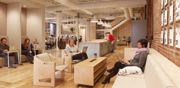 众创空间办公室设计:美国Airbnb打造高效空间