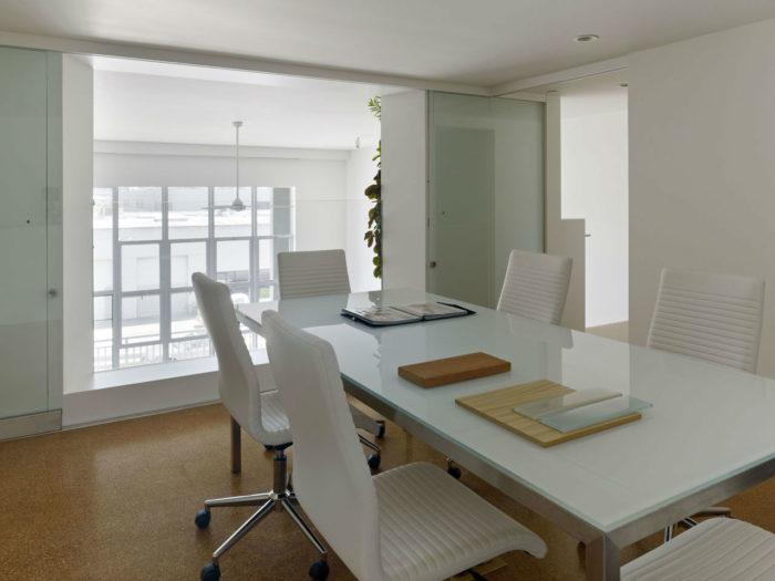 美国建筑事务所简约风格办公室设计案例