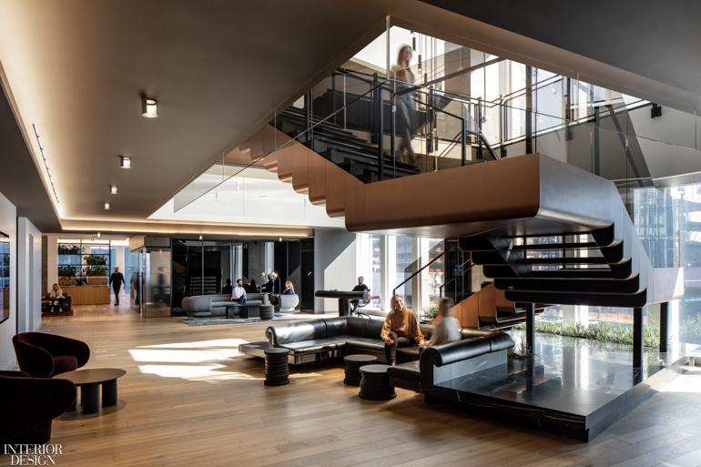 奢侈品公司总部办公室设计:哈德逊总部