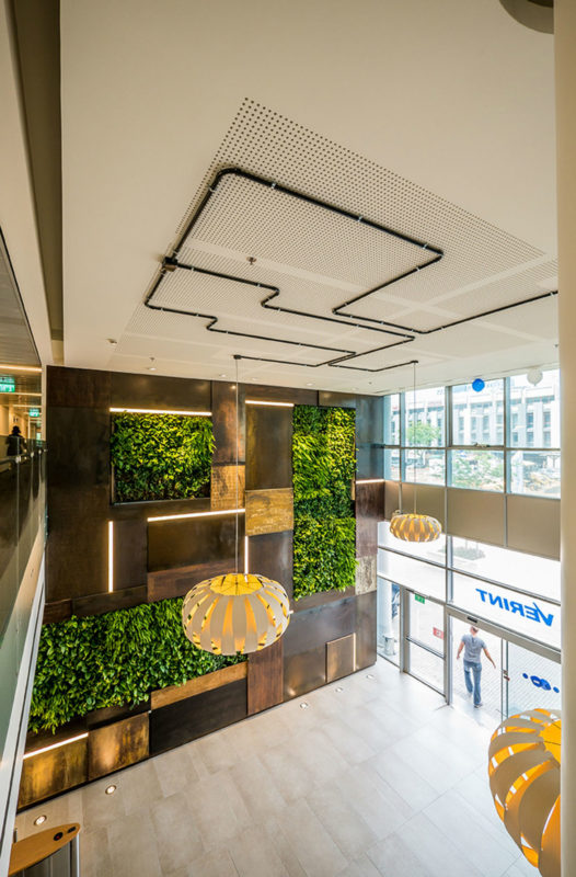 高科技公司总部办公室设计:以色列VERINT总部