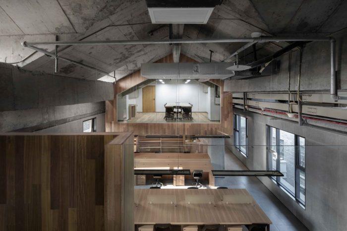 极简风格众创空间设计:重庆中山路办公空间案例
