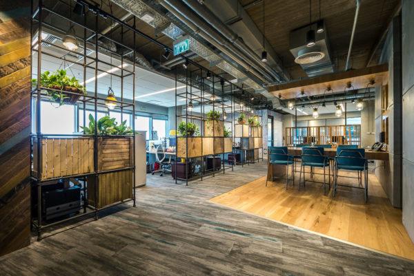 互联网公司简约风格办公室设计:以色列CA技术公司