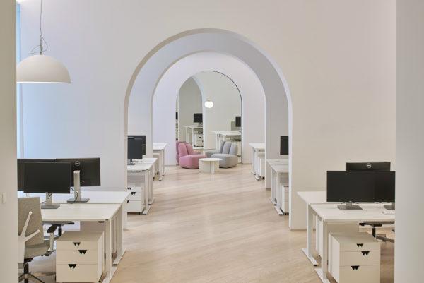 科技公司简约风格办公室设计:WIX.COM办公室