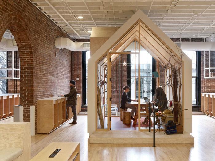 办公室设计:美国互联网公司旅游短租Airbnb 客户体验中心