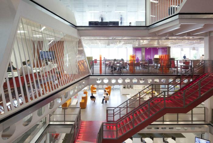 金融集团公司办公室设计:澳大利亚Macquarie