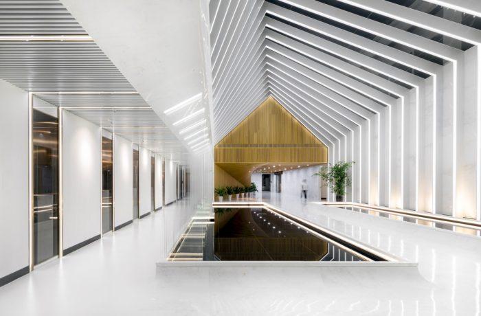 浙江丽水现代科技公司办公室设计分享