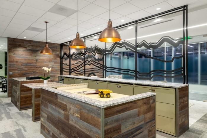 矿产开发基金公司总部办公室设计效果图