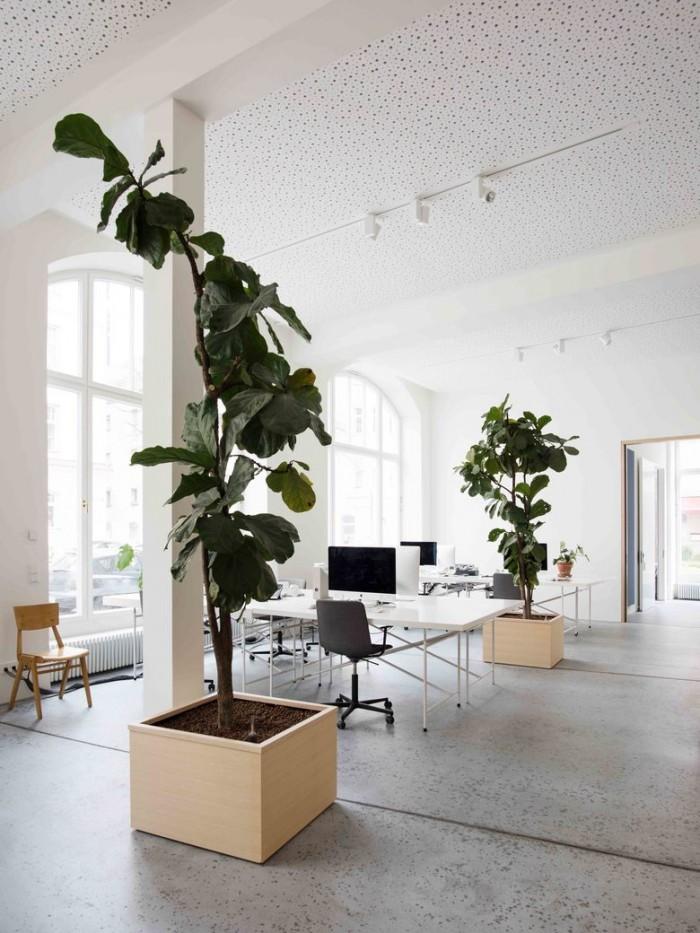 建筑事务所总部办公室设计效果图