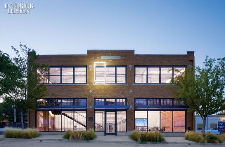 汽车公司办公室设计:夏普供应商公司