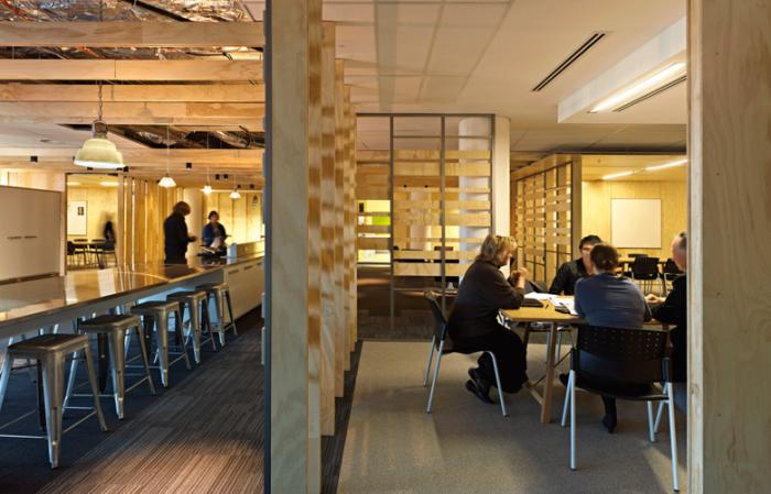 创意设计公司现代风格办公室效果图分享