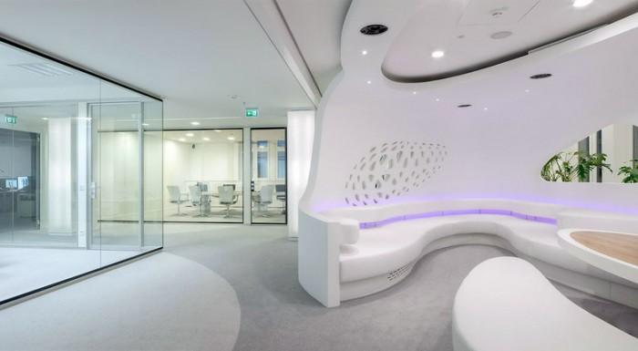 科技公司法兰克福办公室设计效果图