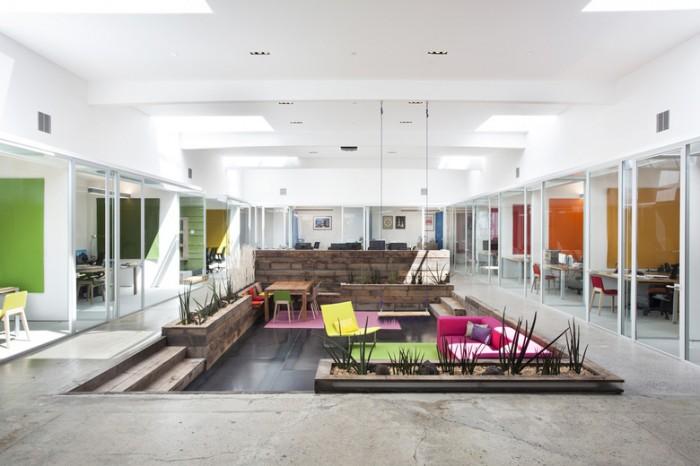 室内设计公司总部办公室设计效果图分享
