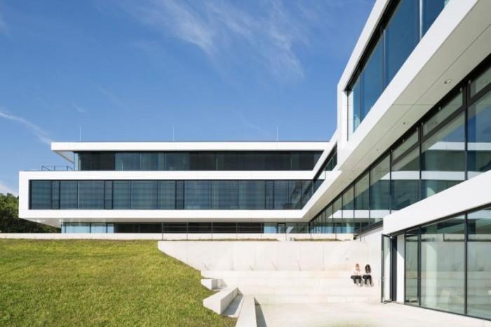 农业种业公司办公室空间设计效果图案例