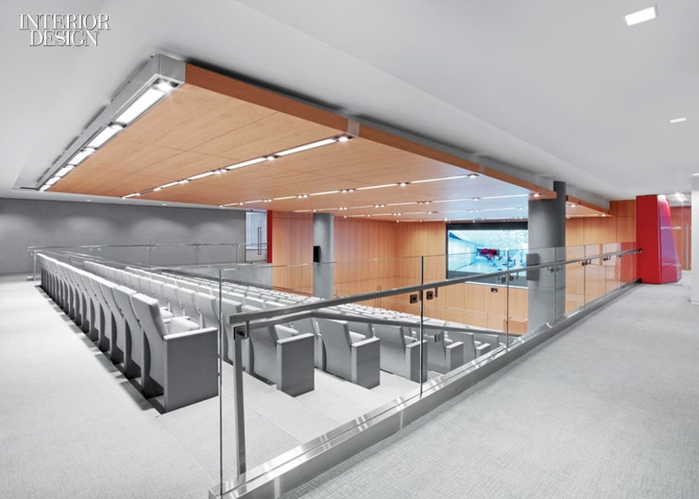 现代极简风格办公室会议室设计:华盛顿律师事务所