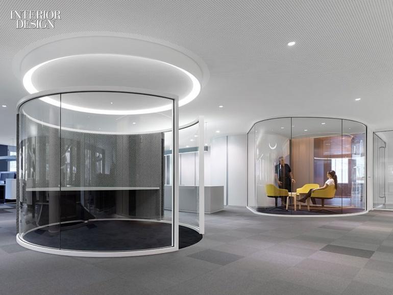 房地产公司办公室设计:德国现代风格创意空间