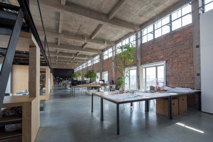 广州创业孵化器办公空间设计效果图