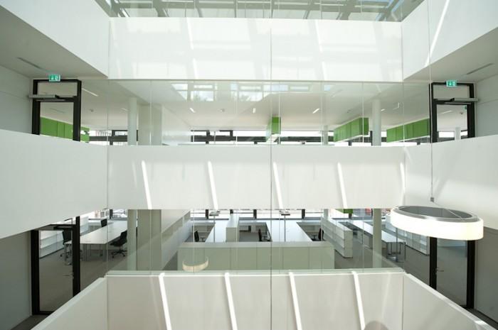 环保设备公司总部办公楼设计分享