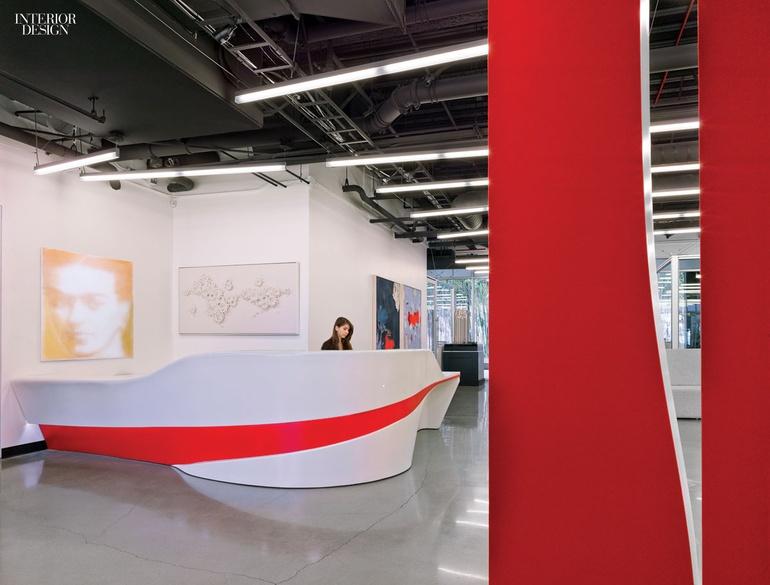 现代简约创意风格办公室设计:洛杉矶高端营销公司