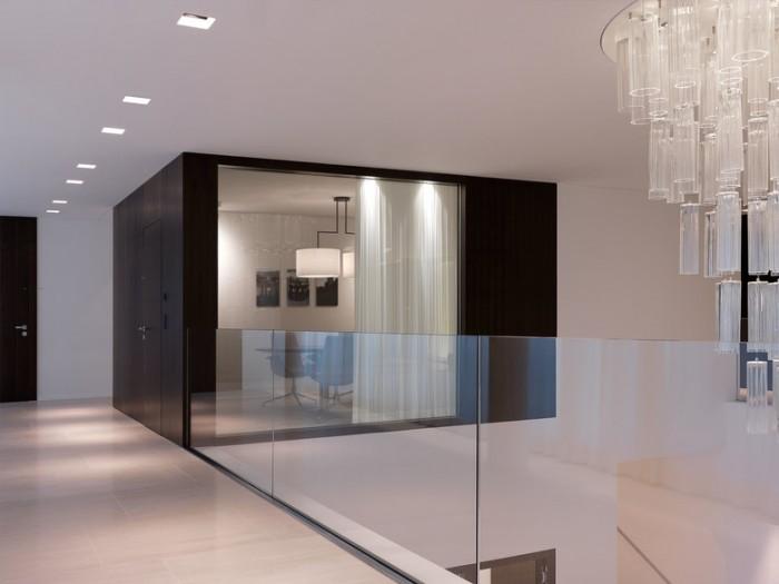 黑白极简风格办公室设计效果图:手表品牌公司