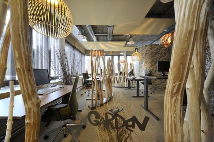日化公司总部办公室设计效果图:联合利华总部