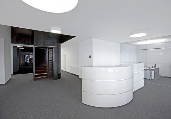 电子原器件公司办公室设计效果图