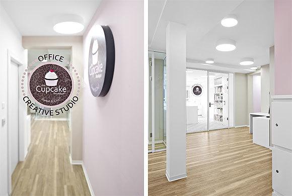 互联网甜品公司办公室设计效果图