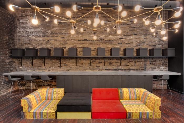 房地产设计服务工作室办公室设计效果图