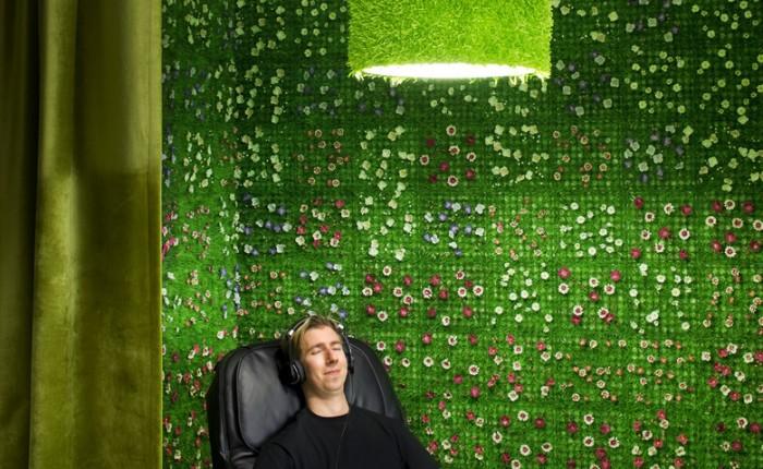 Google 办公室空间设计效果图
