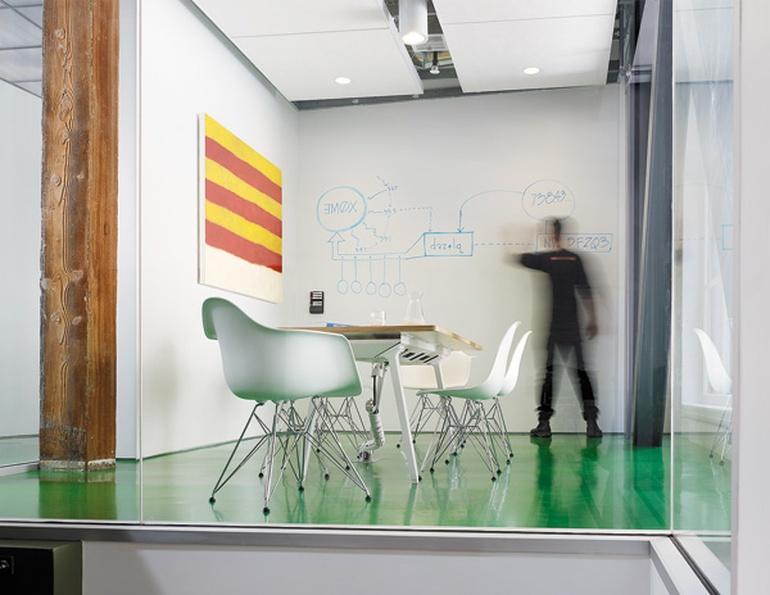 现代风格律师事务所设计:旧金山知识产权公司