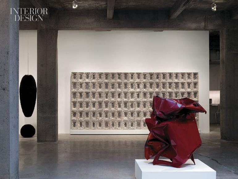 美国纽约低调的充满艺术的办公室设计分享