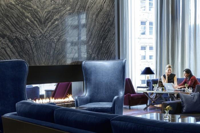 酒店集团公司总部办公室设计效果图