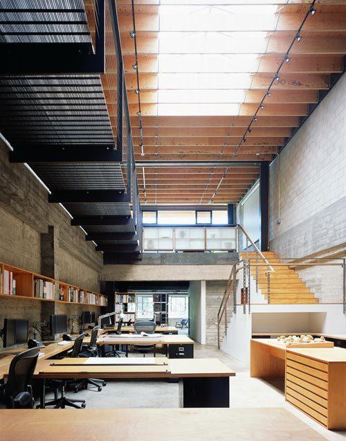 建筑设计公司办公室设计效果图